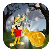 Buckbunny Rabbit Running