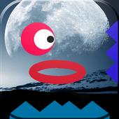 Red Ball Moon Dash 🍎 1.0