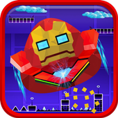 Geometry Hero - Iron Pou Dash 4.3.7