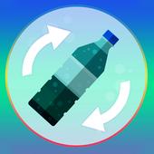 Flip Bottle Water 2k ChallengeGexmobCasual