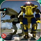 Dino Robot Transformation 2.0