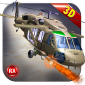 Helicopter Gunship Air Battle