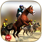 Horse Race Derby Action