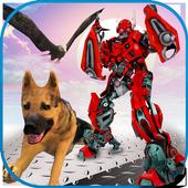 Multi Robot Transforming Game: Robo Animal Cop Dog 1.0