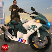 Police Motorcycle Secret AgentRaydiex - 3D Games MasterAction