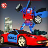 Police Robot Car Simulator 2.0