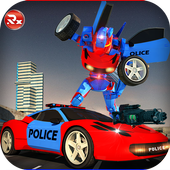 Police Robot Car Simulator 2.0