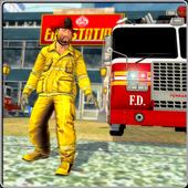 Fire Truck Rescue: City Firefighter Hero 3D 1.2