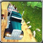 Safari Zoo Animal Transport Truck: Animals Pickup 1.1
