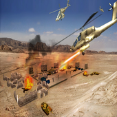 Stealth Helicopter Fighter War 1.0