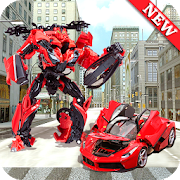 World Futuristic Robot Car Transform Battle War 19 1.0.3