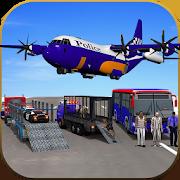 US Police Airplane Cop Dog Transporter Kids Games 1.0.3
