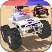 Police Offroad Chase Truck