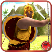 Spartan Warrior–Animal Fighter