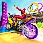 SuperHero Ramp Stunt Mega Racing Games - 2020 Bike 1.1