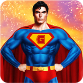 Grand Flying Superhero Robot Pro Fight
