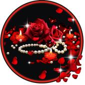 Roses Pearls live wallpaper 1.4