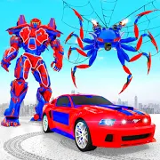 Spider Robot Car Transform Action Games 1.1.6