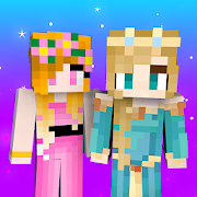 Princess Skins NEW 1.6.4