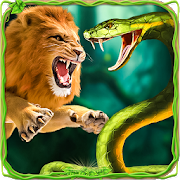Furious Lion Vs Angry Anaconda Snake 1 0 APK Download