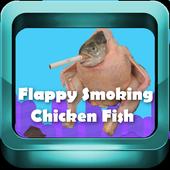 Flappy Smoking Chicken Fish