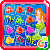 Crazy Mermaid Fish FunGame Magic StudioCasual