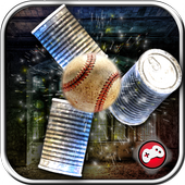 Can Knockdown 3D Tin Smash Hit Baseball Striker 1.1