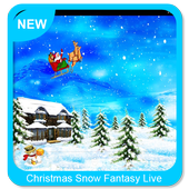 Christmas Snow Fantasy Live Wallpaper
