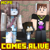 Comes Alive Mod for Minecraft PE 1.0