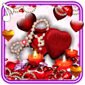 Valentines Candles live wallpaper 1.2