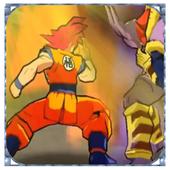 Goku Battle Saiyan Fusion 2
