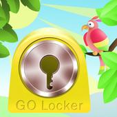 GO Locker Theme animals 14