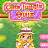 Cute Jungle QuizGOnlineGamesBoard