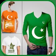 Pak Flag Shirt Photo Editor - 14 August 4.5.2