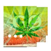 GO SMS Pro Theme Ganja Weed 3.4