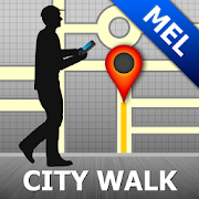 Melbourne Map and Walks 36