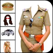 Women Police Suit Photo Editor 1.0.19