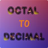 Octal To Decimal 1.0