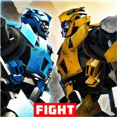Clash Of US Futuristic Robot Fighting Game