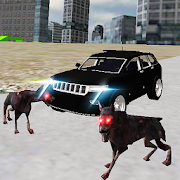 Real 4x4 Jeep Drive City Dogs 1.4