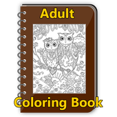 Adult Coloring Book FREEParty Fusion GamesBoard