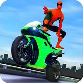 3D Hero Super Spider Rider - Moto Traffic Shooter 1.9.1