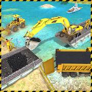 Real City Road River Bridge Construction Game 1.0.5
