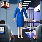 Airport Staff Flight Attendant Air Hostess Games 1.4