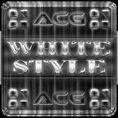 NEXT LAUNCHER WHITESTYLE THEME 5.7