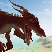 Flying Fire Drake Simulator 3D 2