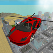 Flying  Helicopter Car 3D Free 2