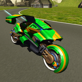 Flying Motorbike Stunt Rider 2