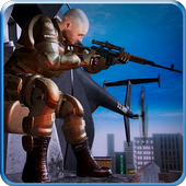 City Sniper Helicopter Pilot: Survival Hero Game 1.0