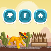 Lion Running Free Game 2.0